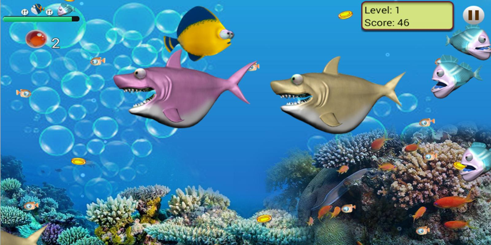 Feeding frenzy adventure 2016 apk baixar gr tis arcade for Fish eat fish game