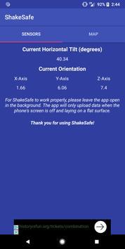 ShakeSafe poster