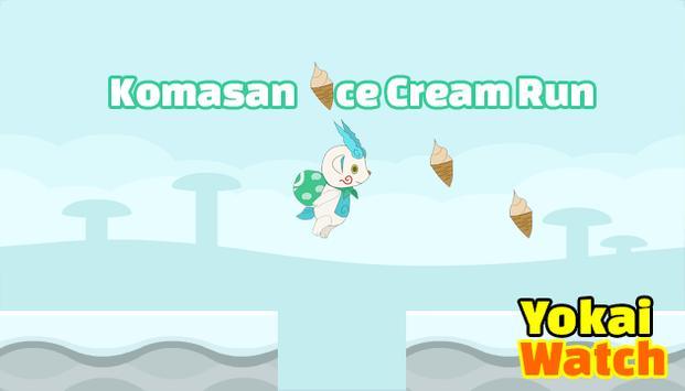 Komasan Ice Cream Run Yokai apk screenshot