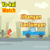 Jibanyan Car Jump Yokai Watch icon