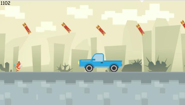 Jibanyan Car Jump Yokai Watch apk screenshot