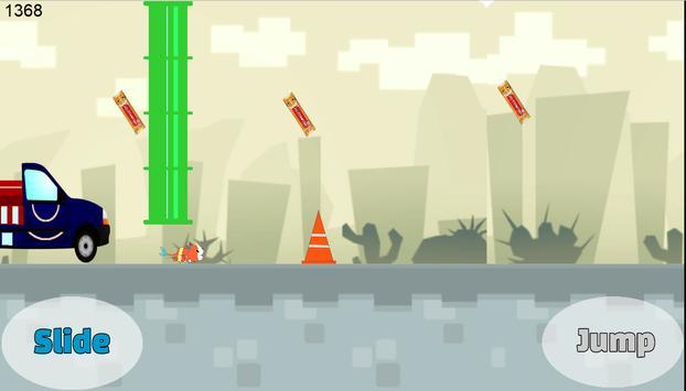 Jibanyan Car Escape Yokai apk screenshot