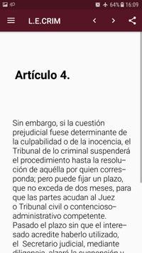 L.E.Crim. - Ley de Enjuciamiento Criminal Español screenshot 3