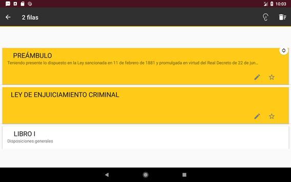 L.E.Crim. - Ley de Enjuciamiento Criminal Español screenshot 10