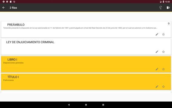 L.E.Crim. - Ley de Enjuciamiento Criminal Español screenshot 7