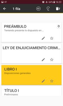 L.E.Crim. - Ley de Enjuciamiento Criminal Español screenshot 5