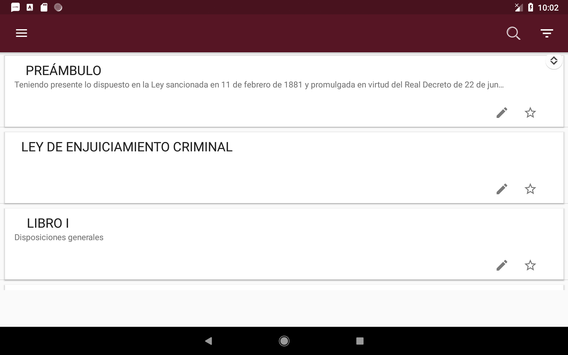 L.E.Crim. - Ley de Enjuciamiento Criminal Español screenshot 9