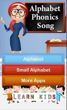 Alphabet Phonics Song screenshot 1