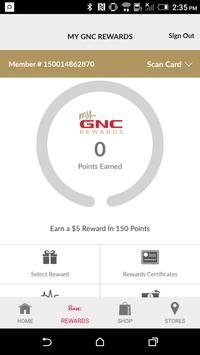 GNC apk screenshot