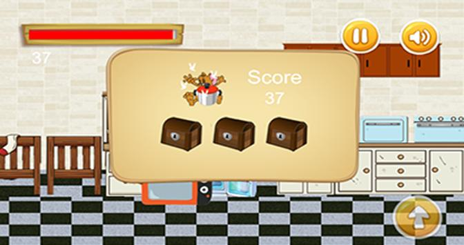 Tom jump and Jerry run in the kitchen screenshot 3