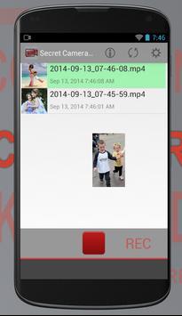 Secret Camera Recorder screenshot 4
