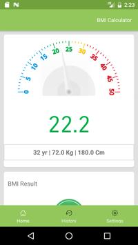 BEST BMI CALCULATOR apk screenshot