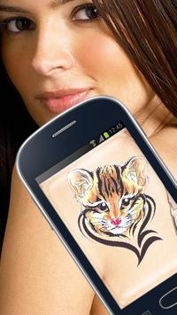 Tattoo Сamera apk screenshot