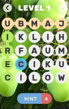 cari nama buah poster