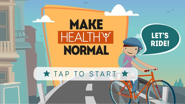 The Make Healthy Normal Game poster