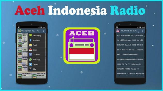 Aceh Radio poster
