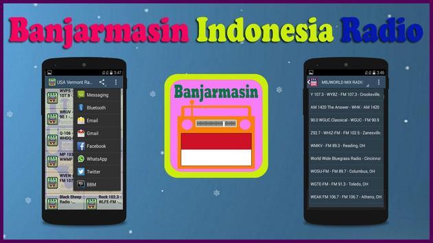 Banjarmasin Radio poster