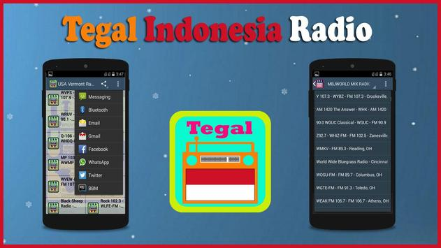 Tegal Radio screenshot 1