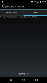 GNURoot Octave apk screenshot