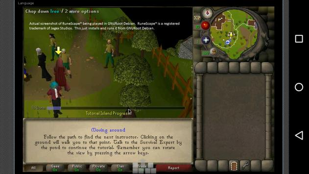 GNURoot RuneScape Installer apk screenshot