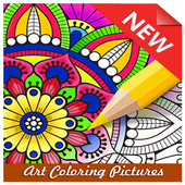 Art Coloring Pictures icon