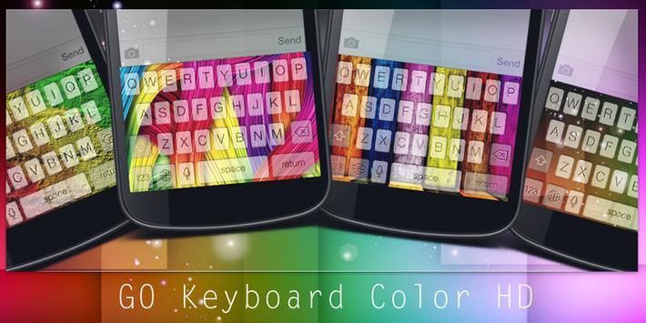 GO Keyboard Color HD poster