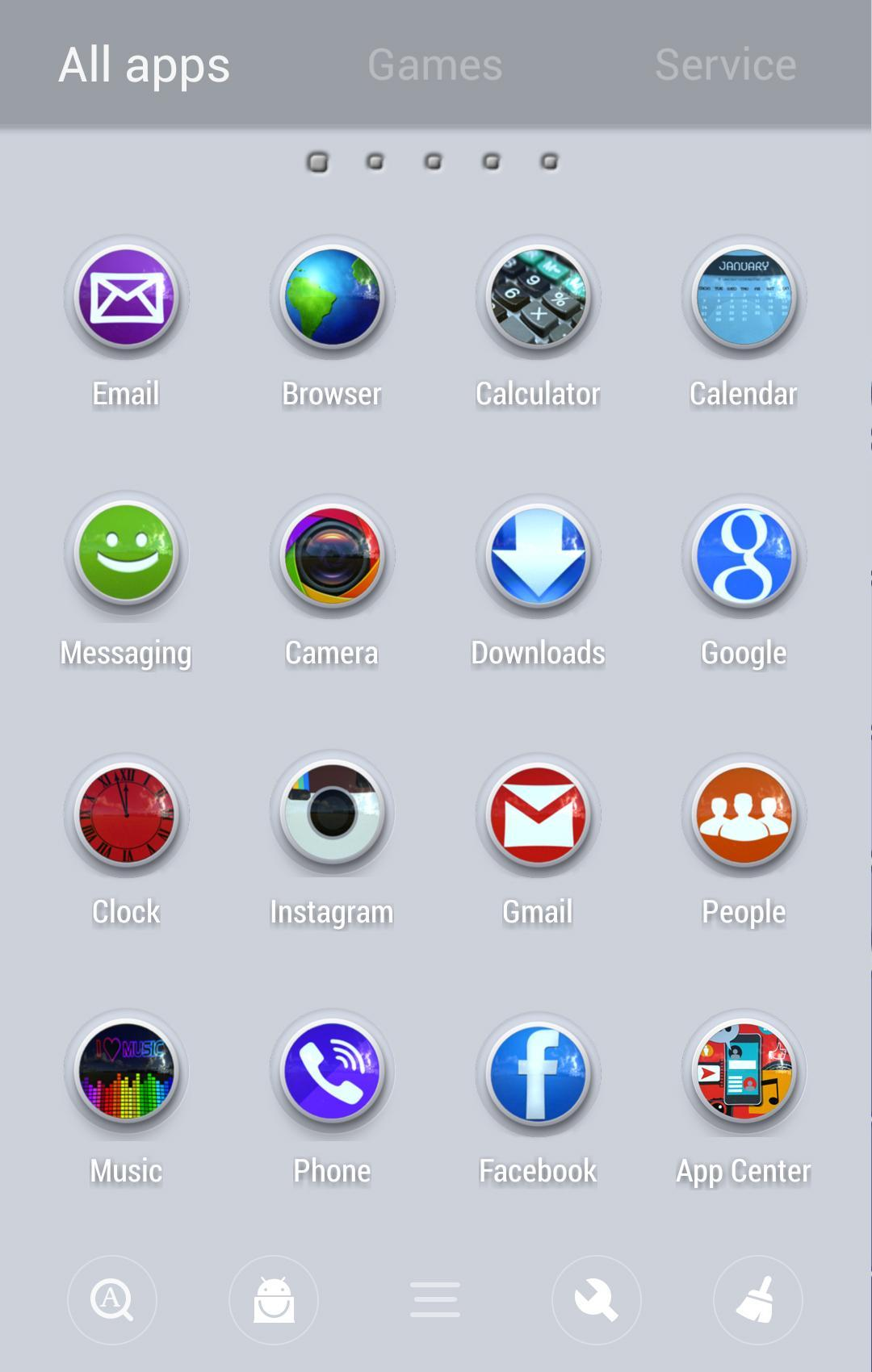 Pure Go Launcher Theme Tapjoy for Android - APK Download