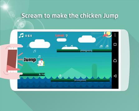 Chicken Scream Go 2 screenshot 1