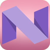 Theme for Android N icon