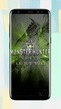 MONSTER HUNTE5 WORLD Wallpapers Fans apk screenshot
