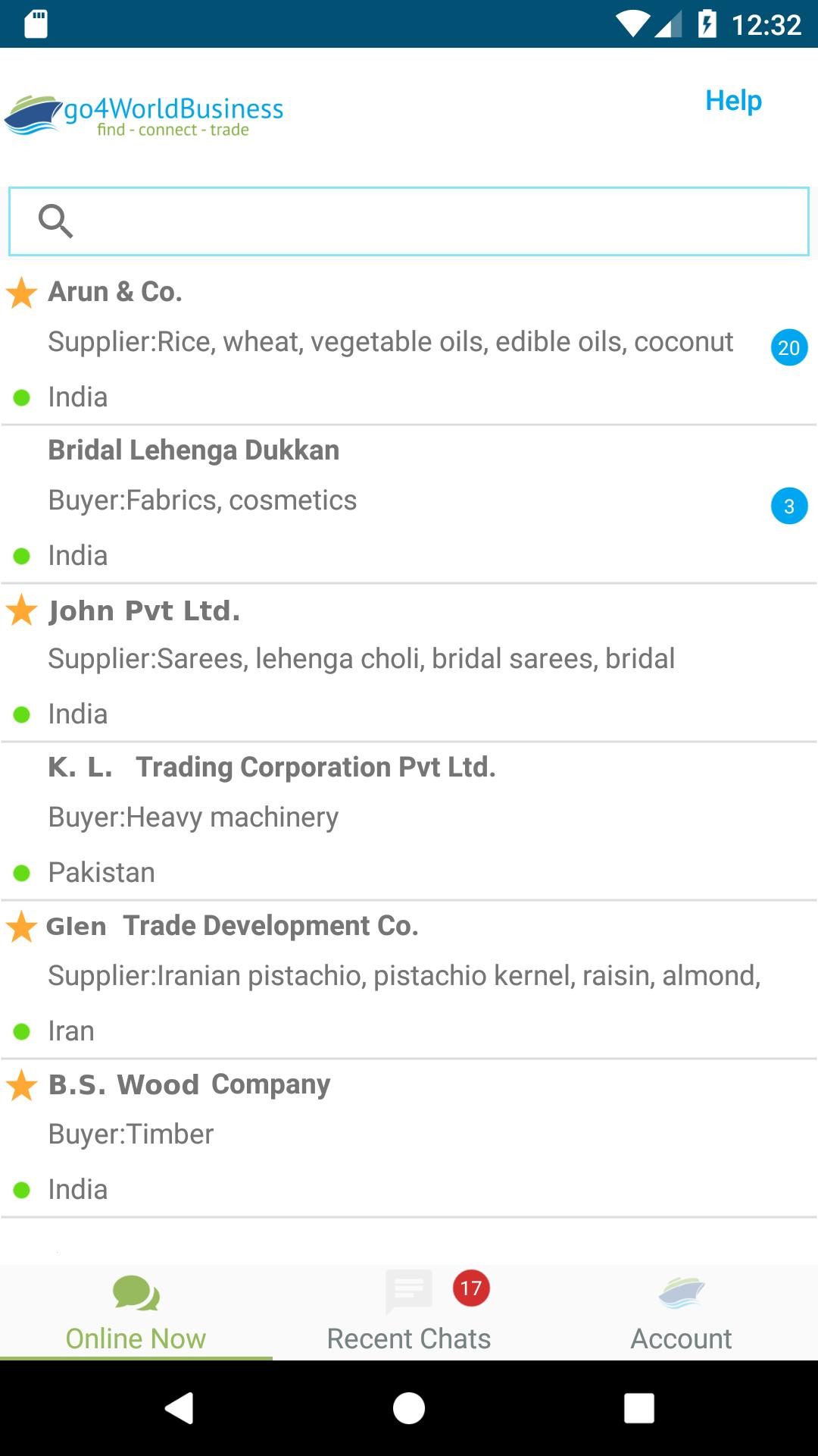 go4WorldBusiness : Wholesale Import/Export & Trade for Android - APK