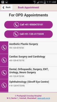 Pushpanjali Crosslay Hospital apk screenshot
