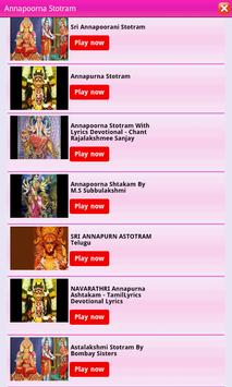 Sri Annapoorani Stotram apk screenshot