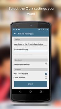 GoConqr Quizzes apk screenshot