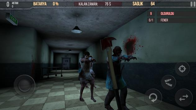 Zombie Hospital Free poster