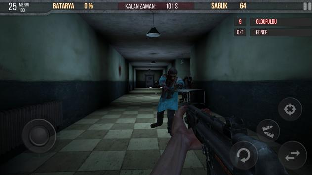 Zombie Hospital Free apk screenshot