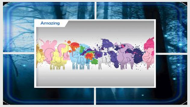 Cute Pony Live Wallpapers screenshot 1