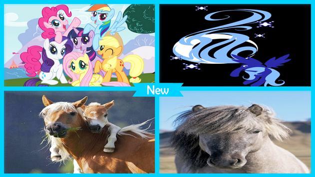 Cute Pony Live Wallpapers screenshot 2
