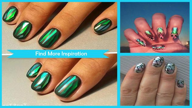 DIY Jaw Dropping Glass Nail Design poster