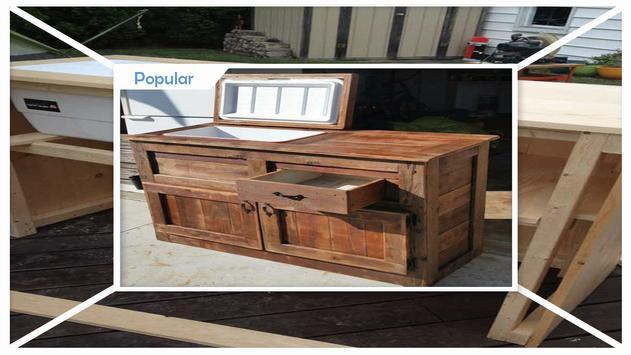 DIY Rustic Outdoor Cooler Bar Tutorial apk screenshot