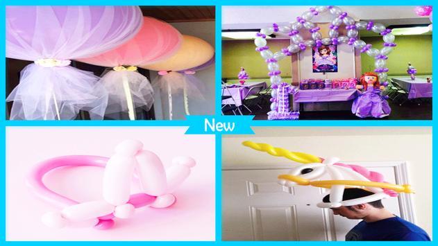 Simple DIY Baloon Princess Crown screenshot 4