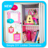 Simple DIY Locker Decoration Ideas icon