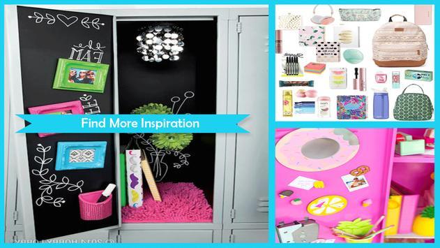 Simple DIY Locker Decoration Ideas poster