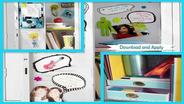 Simple DIY Locker Decoration Ideas apk screenshot