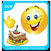 Simple DIY Smiley Face Emoji Pies icon