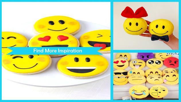 Simple DIY Smiley Face Emoji Pies poster