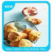 Tasty Father's Day Brunch Recipes icon