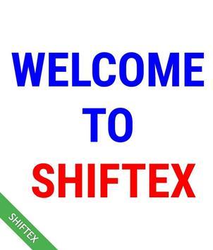 SHIFTEX shifting text Gif maker poster