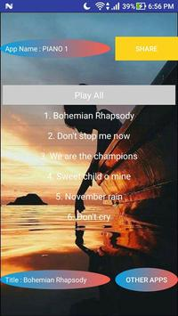 PIANO ROCK BALLAD poster