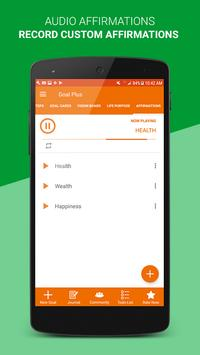 Goal Plus: Goal Setting, Vision Board, & Planner apk screenshot